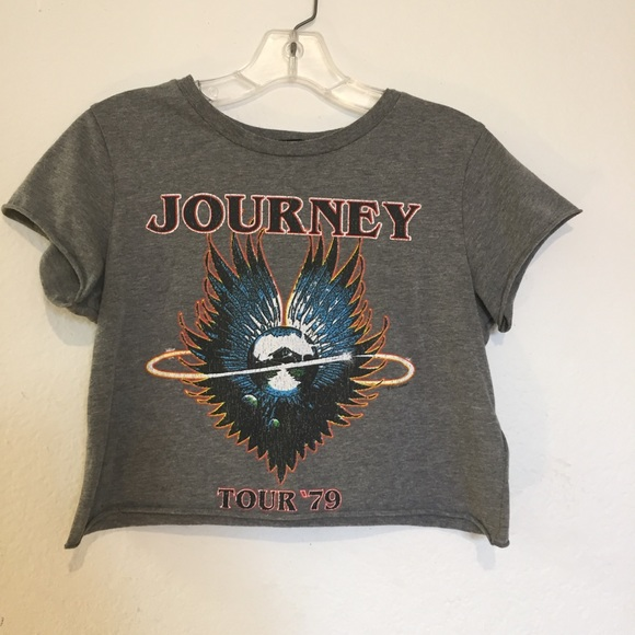 3e7a7c308fe Forever 21 Tops - Forever 21 Journey 1979 Concert Crop Top Size M